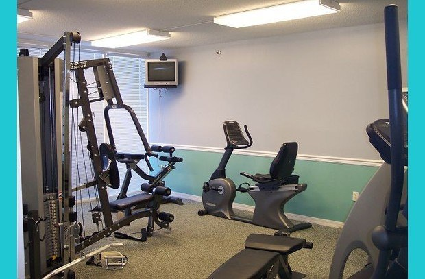 Fitness room on-site!