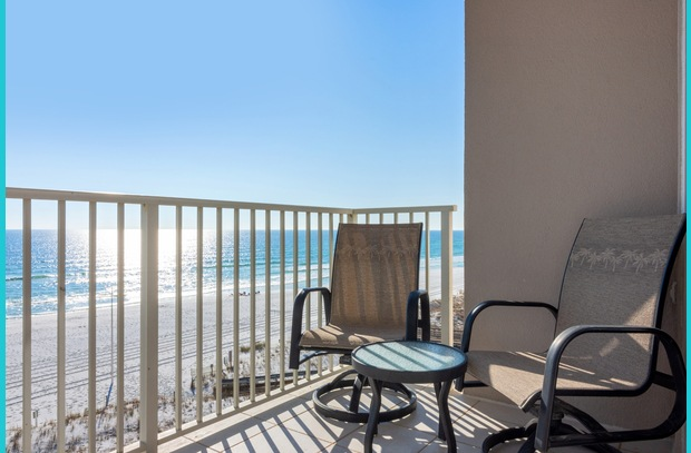 Experience the Emerald Coast from the balcony of this luxury beach condo, Island Princess 615