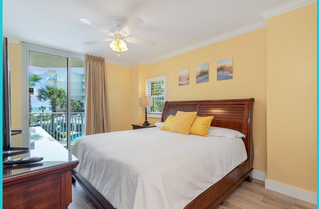 Each king-size master suite has NEW custom drapes, tile, paint and decor