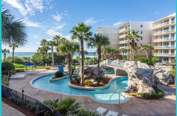 Our 2-bedroom condo in Fort Walton Beach's Waterscape offers a family-friendly beach vacation