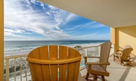 Class Act! Fall in love with this elegant 3-bed, 3-bath FULL ocean front condo